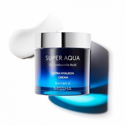 Missha, Крем Super Aqua Ultra Hyalron, 70 мл chi luxury black seed oil curl defining cream gel