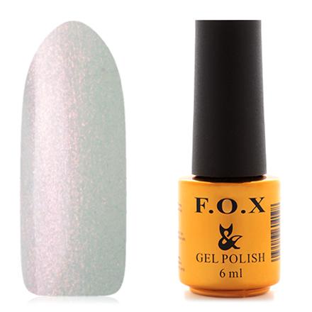 FOX, Гель-лак French №714F.O.X<br>Гель-лак (6 мл) на прозрачной подложке, с розовыми микроблестками, прозрачный.<br><br>Цвет: Розовый<br>Объем мл: 6.00