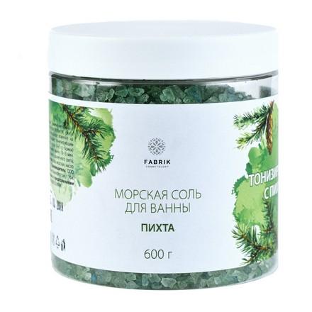 Fabrik Cosmetology, Соль для ванны «Пихта», 600 г