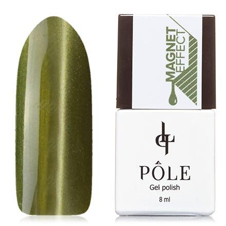 POLE, Гель-лак №11, Травяной зеленыйPOLE<br>Магнитный гель-лак (8 мл) желто-зеленый, с салатовыми микроблестками, плотный.<br><br>Цвет: Зеленый<br>Объем мл: 8.00