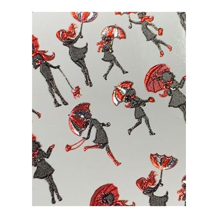 AnnaTkacheva,3D-слайдерCrystal№722 «Девушки. Зонты» фото