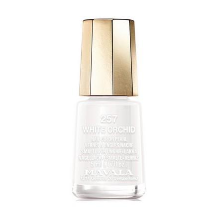 Mavala, Лак для ногтей №257, White OrchidMavala<br>Лак для ногтей (5 мл). Точное описание цвета появится в ближайшее время.