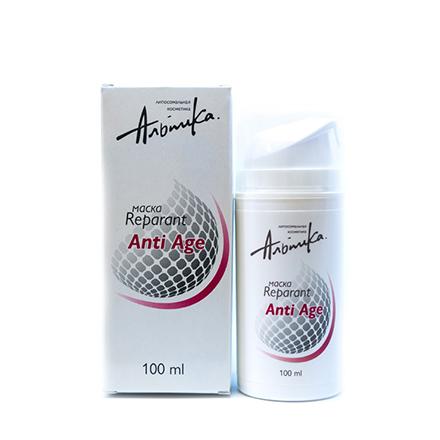 Альпика, Маска для лица Anti-Age, 100 мл chi luxury black seed oil curl defining cream gel