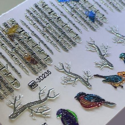 Купить AnnaTkacheva, 3D-слайдерCrystalHT№235 «Зима. Новый год», Anna Tkacheva