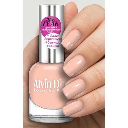 Купить Alvin D'or, Лак-гель №16160, Розовый