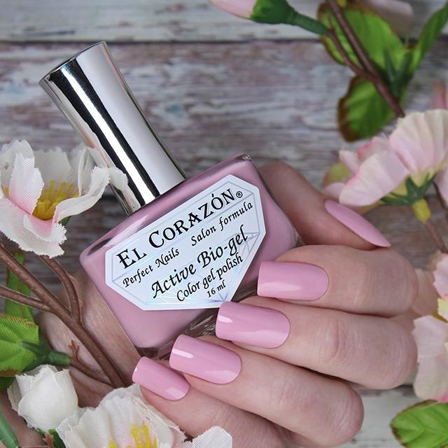 Купить El Corazon, Активный биогель Cream, №423/345, Розовый