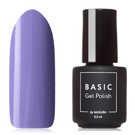 Masura, Гель-лак Basic №294-445М, Крокусный шафранMasura трехфазный шеллак<br>Гель-лак (3,5 мл) яркий сиреневый, без перламутра и блесток, плотный.<br><br>Цвет: Фиолетовый<br>Объем мл: 3.50