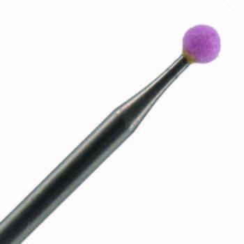 Planet Nails, насадка керамическая шарик 3мм (601.030)Насадки<br>Для тонкой работы на мозолях и ногтях.<br>