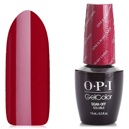 Гель-лак OPI GelColor, цвет Love is in My Cards HPG32