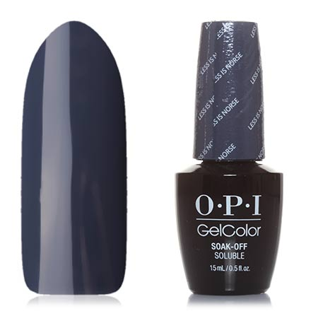 OPI GelColor, Гель-лак Iceland GCI59, Less is Norse opi типсы белые 1 10 opi tips