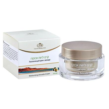 Купить Care & Beauty Line, Крем для лица Moisturizing Avocado, 50 мл