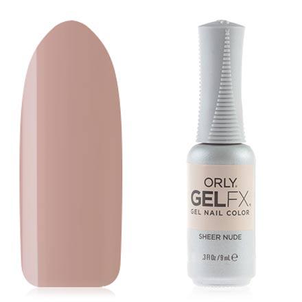 ORLY, Гель-лак Gel Fx, Sheer Nude фото