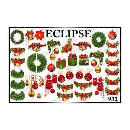 Купить Eclipse, Слайдер-дизайн для ногтей №932