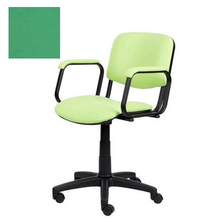 Купить Мэдисон, Кресло парикмахерское «Контакт» пневматическое, пластиковое, зеленое
