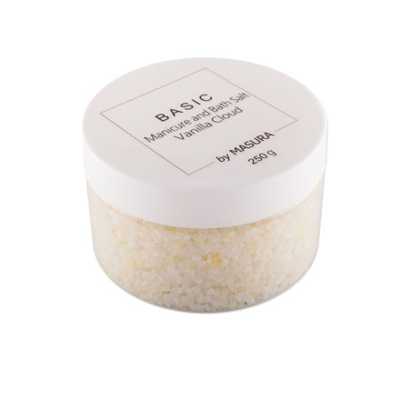 Masura, Натуральная морская соль Vanilla Cloud с витамином Е