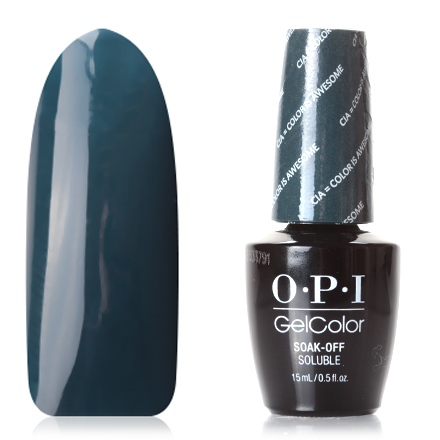 OPI GelColor, Washington, Гель-лак CIA Color Is Awesome