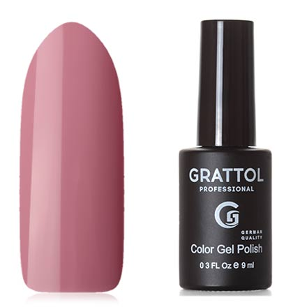 Grattol, Гель-лак Classic Collection №050, Pink Beige grattol топ rubber top gel 9 мл