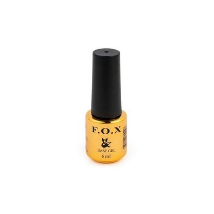 F.O.X FOX, База для гель-лака Base, 6 мл