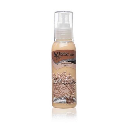 TM ChocoLatte, Крем-молочко для рук Шоколадное омолаживающее, 100 мл tm chocolatte средство для снятия макияжа васильковый шейк 100 мл