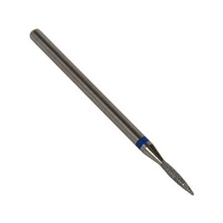 IRISK, Фреза алмазная пламевидная D=1,6 мм, синяя, средняя зернистость