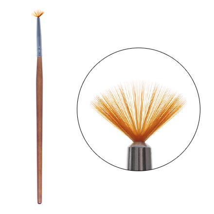 Irisk, Кисть для дизайна веерная, маленькаяКисти для дизайна<br>Кисть для художественной росписи ногтей.<br>