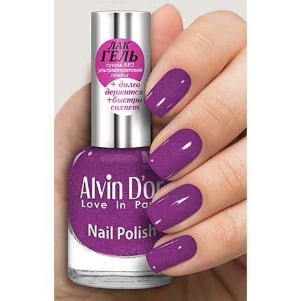 Купить Alvin D'or, Лак-гель №16128, Фиолетовый