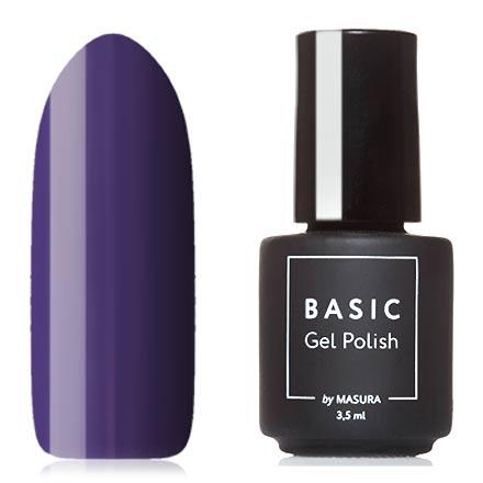 Masura, Гель-лак Basic №294-429М, Цвет годаMasura трехфазный шеллак<br>Гель-лак (3,5 мл) насыщенный фиолетовый, без перламутра и блесток, плотный.<br><br>Цвет: Фиолетовый<br>Объем мл: 3.50
