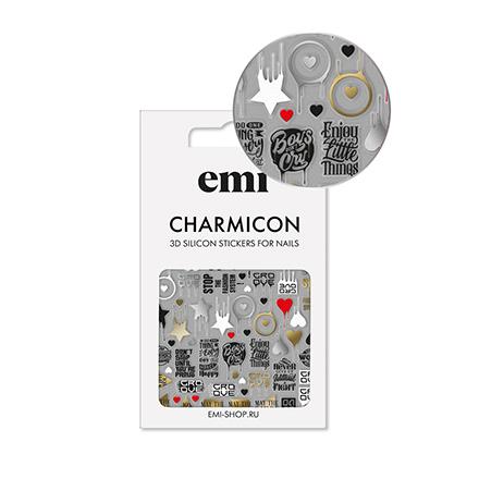 Купить EMI, 3D-стикеры Charmicon №168, Badges