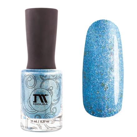 Купить Masura, Лак для ногтей «Золотая коллекция», My precious V, 11 мл, Синий
