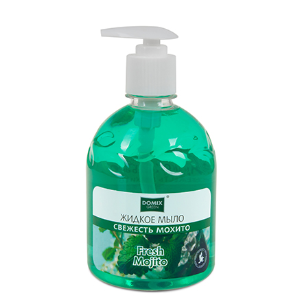 Купить Domix, Жидкое мыло «Свежесть мохито», 500 мл