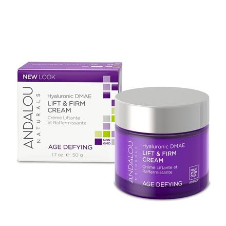 Andalou Naturals, Лифтинг-крем с гиалуроновой кислотой для лица, 50 г chi luxury black seed oil curl defining cream gel