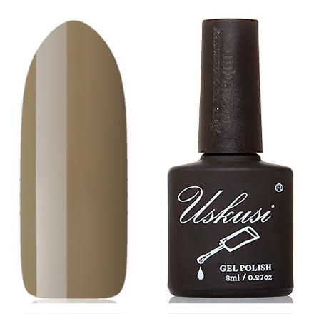 Uskusi, Гель-лак №180Uskusi<br>Гель-лак (8 мл) цвета хаки, без перламутра и блесток, плотный.<br><br>Цвет: Зеленый<br>Объем мл: 8.00