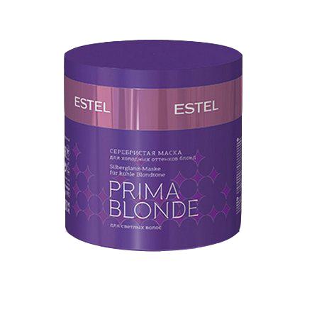 Estel, Серебристая маска Prima Blonde, для холодных оттенков блонд, 300 мл