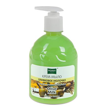 Купить Domix, Жидкое мыло «Оливковое молочко», 500 мл