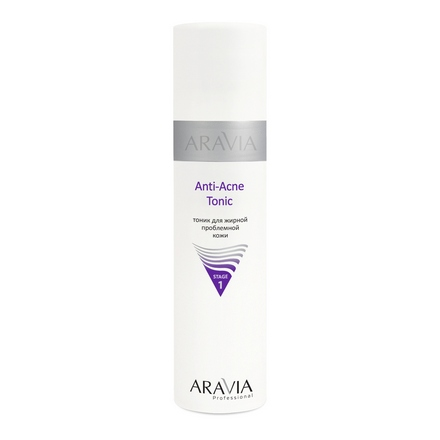 ARAVIA Professional, Тоник для жирной проблемной кожи Anti-Acne Tonic, 250 мл (ARAVIA PROFESSIONAL)