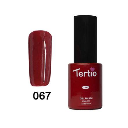 Tertio, Гель-лак Eco Line №67