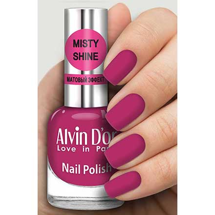 Купить Alvin D`or, Лак Misty shine №525, Alvin D'or, Розовый
