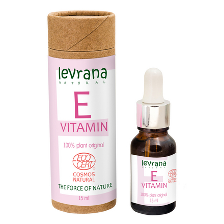 Levrana, Сыворотка для лица «Витамин E», 15 мл