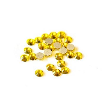 Купить TNL, Стразы 3 мм лимон, 50 шт., TNL Professional