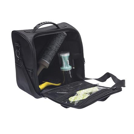 Купить Dewal, Сумка для парикмахерских инструментов, черная, 29х29х18 см