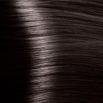 Kapous, Крем-краска для волос Hyaluronic 3.0, темно-коричневый, 100 млКраски для волос<br>Стойкая крем-краска с гиалуроновой кислотой. Подходит для окрашивания натуральных, седых и ранее окрашенных волос.<br><br>Объем мл: 100.00