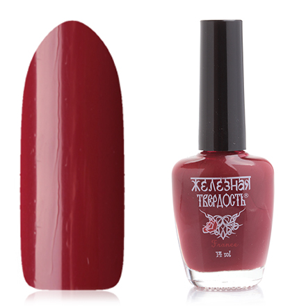 El Corazon, Лак для ногтей «Железная твердость» №418/28El Corazon <br>Лак для ногтей (14 мл) клубнично-красный, без блесток и перламутра, плотный.<br><br>Цвет: Красный<br>Объем мл: 14.00