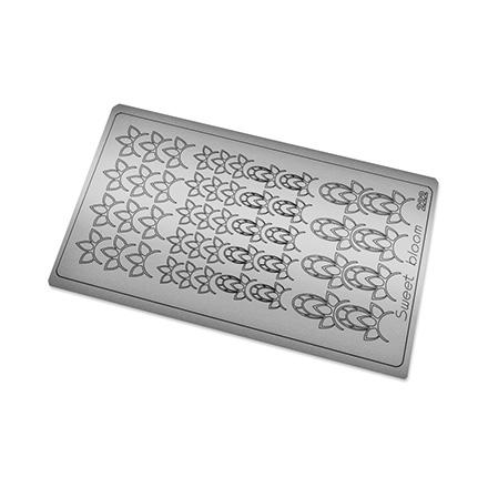Купить Freedecor, Металлизированные наклейки №222, серебро