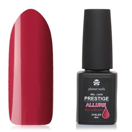 Planet Nails, Гель-лак Prestige Allure №652Planet Nails<br>Гель-лак (8 мл) приглушенный розово-красный, без перламутра и блесток, плотный.<br><br>Цвет: Красный<br>Объем мл: 8.00