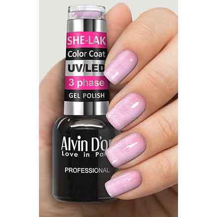 Купить Alvin D'or, Гель-лак №3572, Розовый