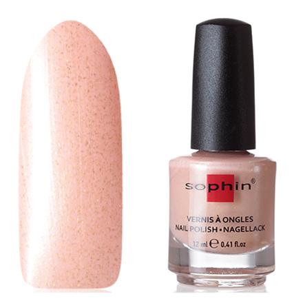 Купить Sophin, Лак для ногтей №0381, Amber Lights, Коричневый