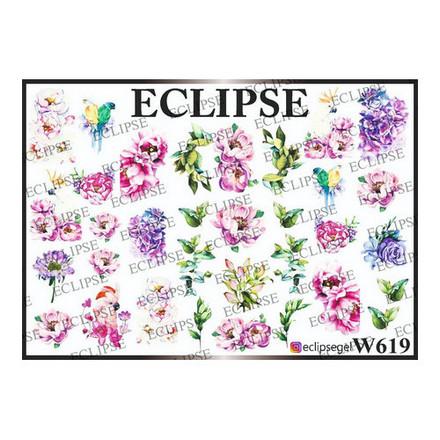 Купить Eclipse, Слайдер-дизайн для ногтей W №619