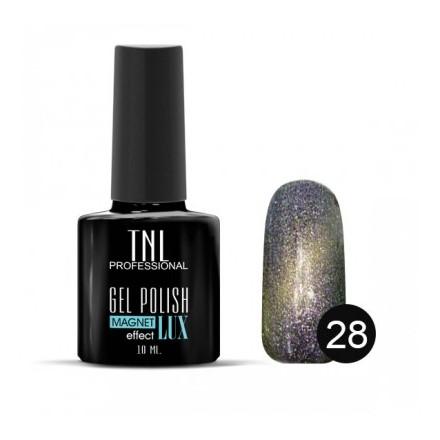 Гель-лак TNL, Magnet lux, цвет №28 Мерцающая лаванда (TNL Professional)