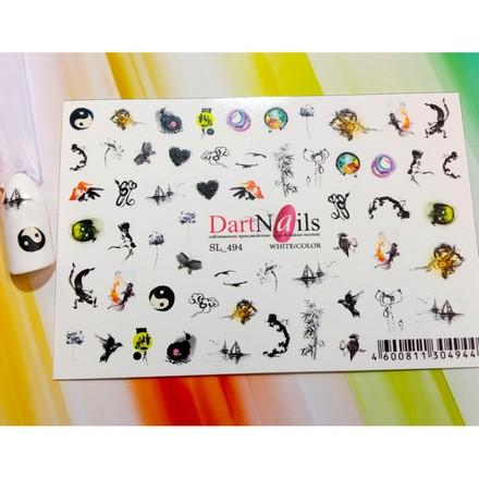 Купить DartNails, Слайдер-дизайн Art-Fashion «Микс» №494