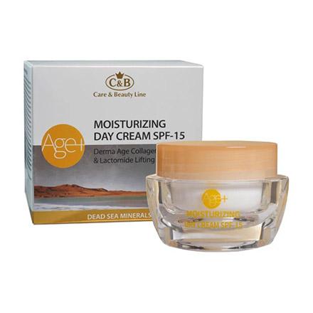 Купить Care & Beauty Line, Крем для лица Moisturizing Age+, SPF 15, 50 мл